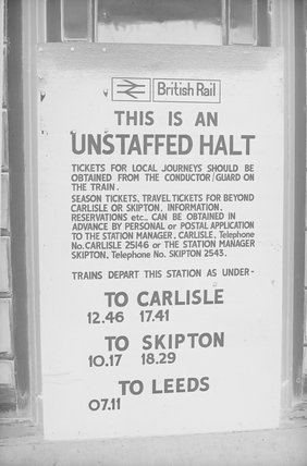 A British Rail ticket notice,A1969.70/Box 5/Neg 1243/23