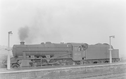 A steam locomotive,A1969.70/Box 5/Neg 1249/19