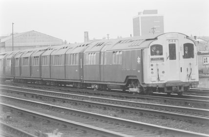 A London type tube stock passenger train,A1969.70/Box 5/Neg 1258/29