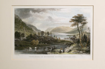 Thirlmere engraving, 1830s