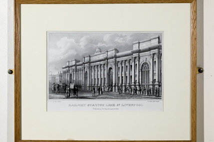 Lime Street Railway Station, 1838.
