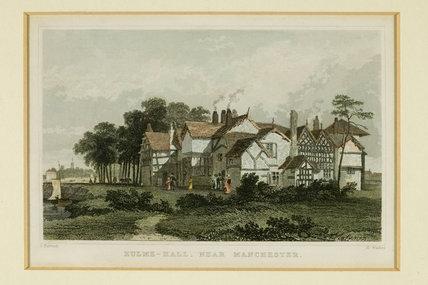 Hulme Hall, 1832.