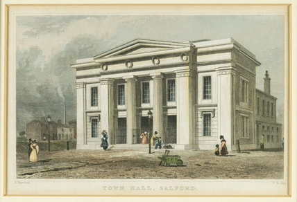 Salford Town Hall, 1826.