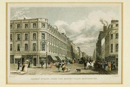 Market Street, Manchester, 1830.