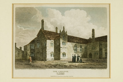 College at manchester, 1807.
