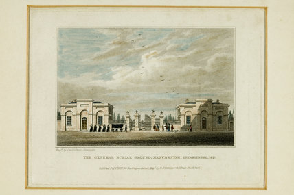 General Burial Ground, 1827.