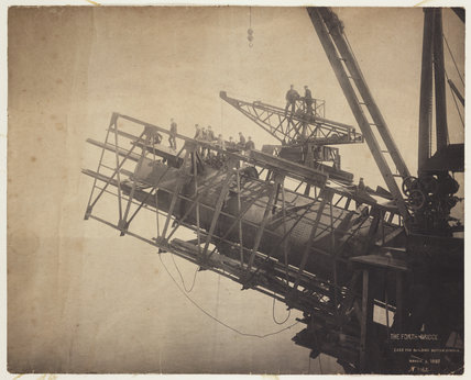 'Forth Bridge Cage For Building Bottom Member', 1887