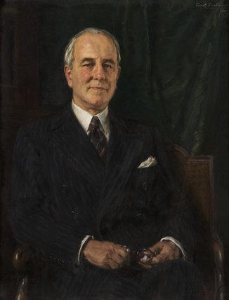Portrait of Sir Edwin Alliott Verdon Roe.