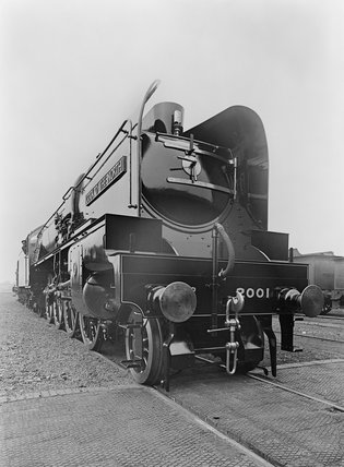 P2 class steam locomotive, 11th July 1934