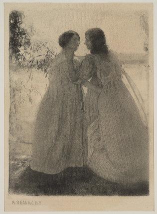 Les Deux Amies, date unknown