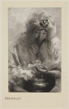 La Femme à la Rose, date unknown