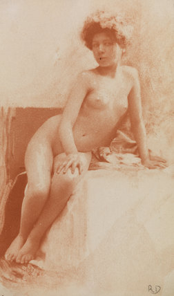 Etude du Nu - Nude study of a young woman