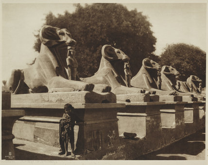 Rarnak. Avenue of Sphinxes