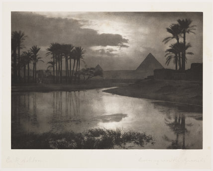 'Evening Near the Pyramids', 1896