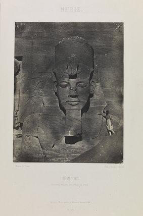 Nubie, Ibsamboul, Colosse Médial du Spéos de Phré', 1850