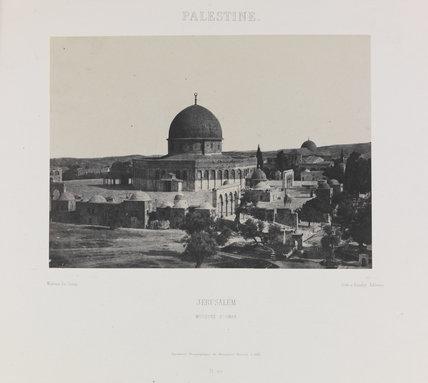 Mosquée d'Omar, Jérusalem' [Mosque of Omar, Jerusalem]