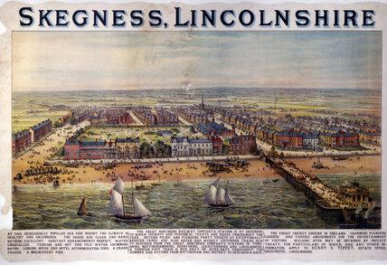 'Skegness, Lincolnshire', GNR poster, c 1900s.
