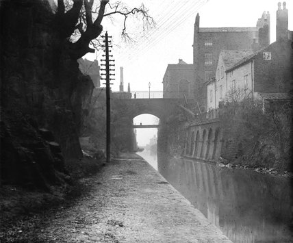 Locks at Chester, about 1900