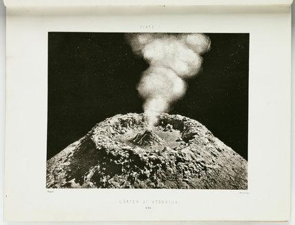 'Crater of Vesuvius', 1864