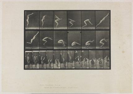 Long jump, standing start. 1887