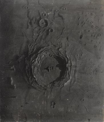 Moon / James Nasmyth, 1851.