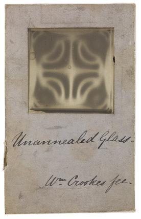 Interference (Polarisation?) pattern on 'Unannealed Glass'