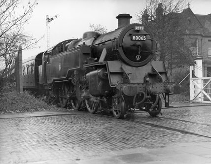 British Railways Class 4 2-6-4T steam locomotive