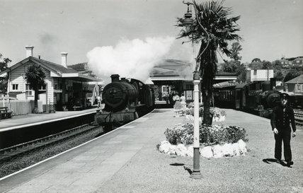 Lostwithiel station, June 1959