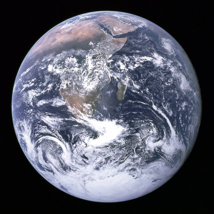 Full Earth, 7th December 1972