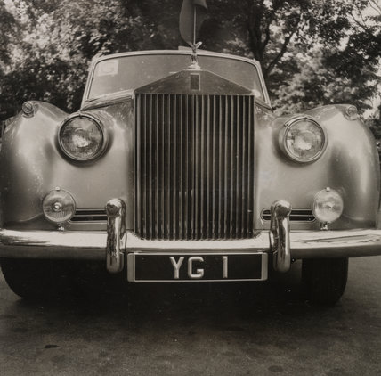 Rolls-Royce that carried Yuri Gagarin on his visit to London in 1961, with special registration number.