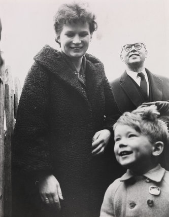 Valentina Tereshkova on her visit to the UK, 1963/64.