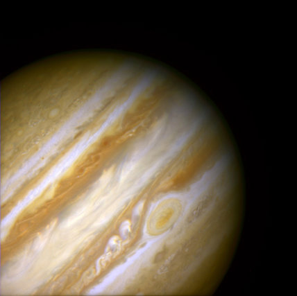 An Ancient Storm in the Jovian Atmosphere
