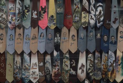 Souvenir Ties,  Nashvillle, 1971-1972.