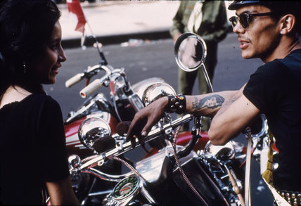 Puerto Rican biker, New York. c. 1963