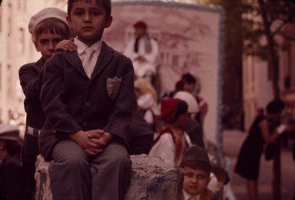 School children, New York. 1963