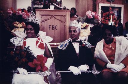 'Visiting Preacher, Fairview Baptist Church, New Orleans', 1971