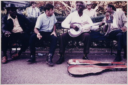 Babe Stovall, Jackson Square, New Orleans