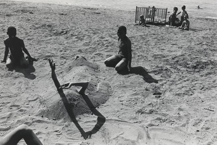 'Belle Isle beach, Detroit', 1965