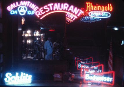 Neon signs, USA