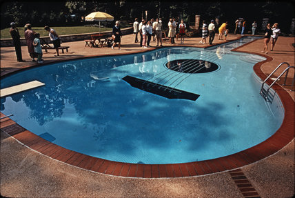 guitar shaped swimming pool nashville by ray jones tony