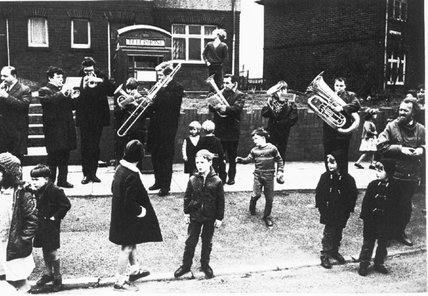 Bacup Coconut Dancers' Band, 1968