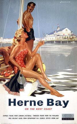 'Herne Bay', BR (SR) poster, 1959.