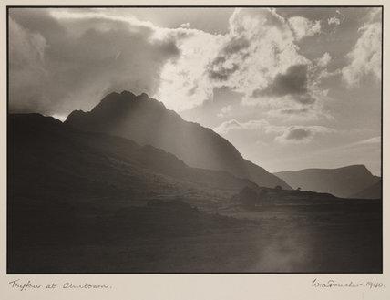 'Tryfan at Sundown', 1940