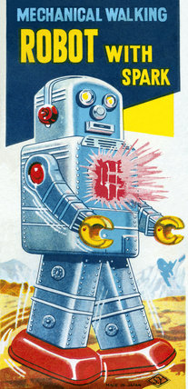 Mechanical Walking Robot with Spark 1950