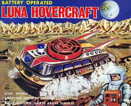 Luna Hovercraft 1950