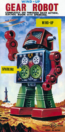 Wind-up Gear Robot 1950