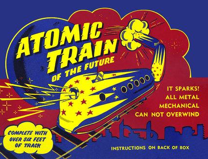Atomic Train of the Future 1950