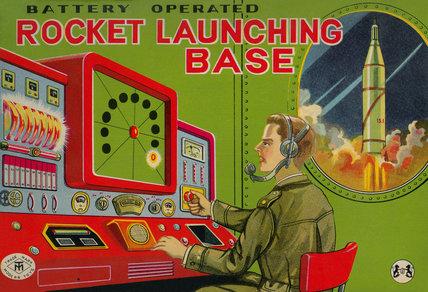Rocket Launching Base 1950