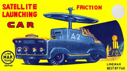 Satellite Launching Car A2 1950