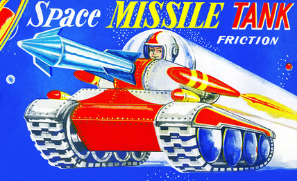 Space Missile Tank 1950